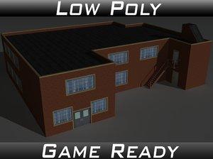 factory building 33 3D