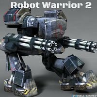 robot warrior 2 3D model