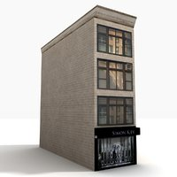 3D city building block