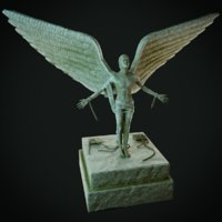 Free Man Statue
