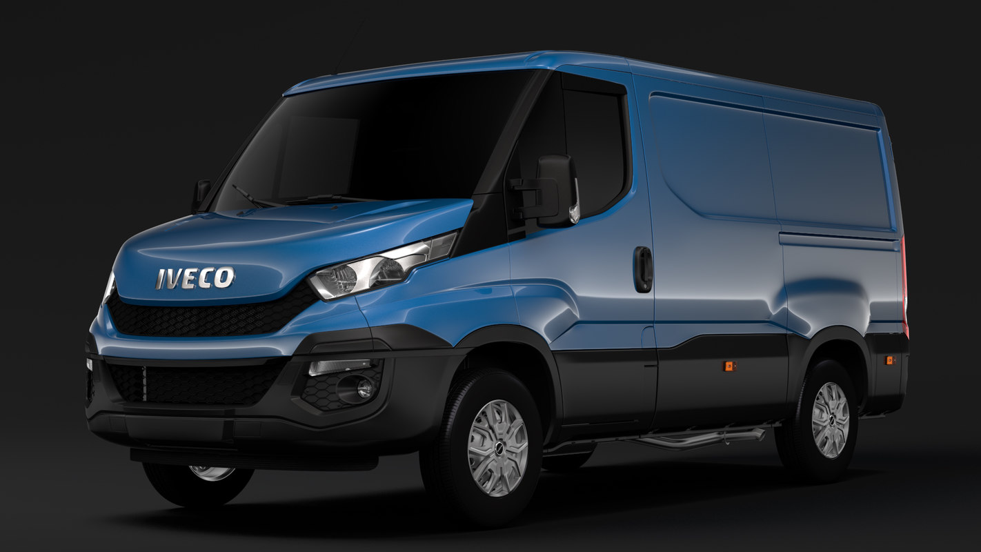 3D model iveco daily window van