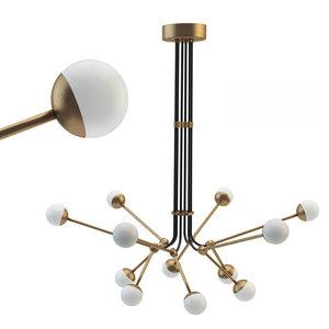 3D model intueri light sy-12 chandelie