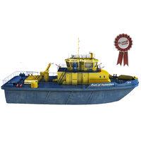 tug boat 3D