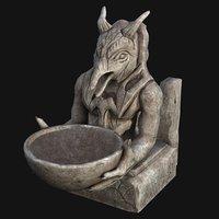 3D model sculpture fantasy