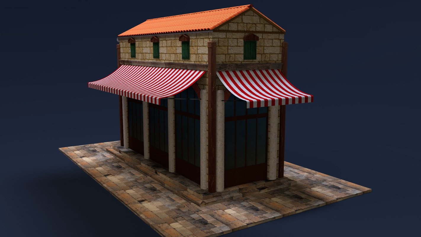 old store 3D model