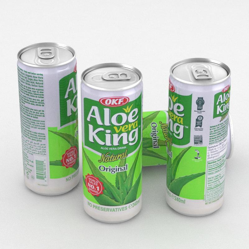 3D beverage aloe vera