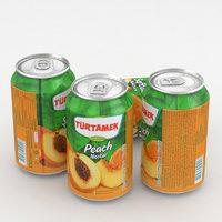 3D beverage tamek peach
