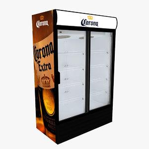corona fridge sliding doors model