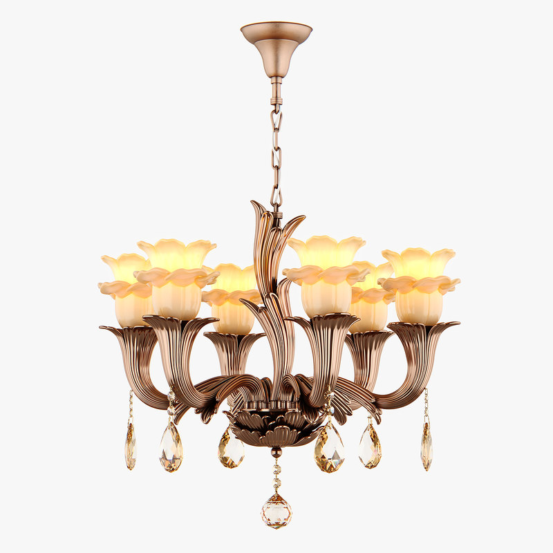 chandelier md 76001-6 osgona 3D