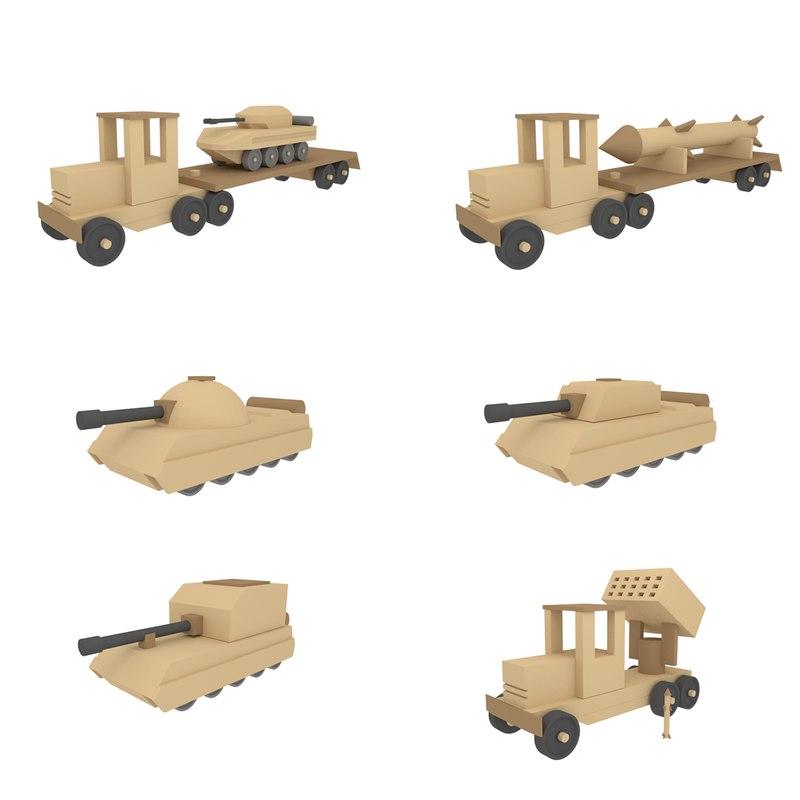 war toys machine 3D model