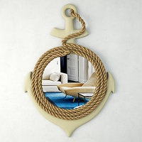 anchor wall mirror rope model