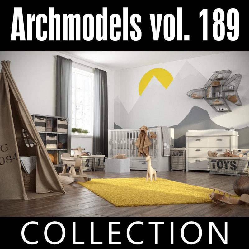 3D model archmodels vol 189