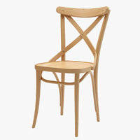 thonet ton chair 150 3D model