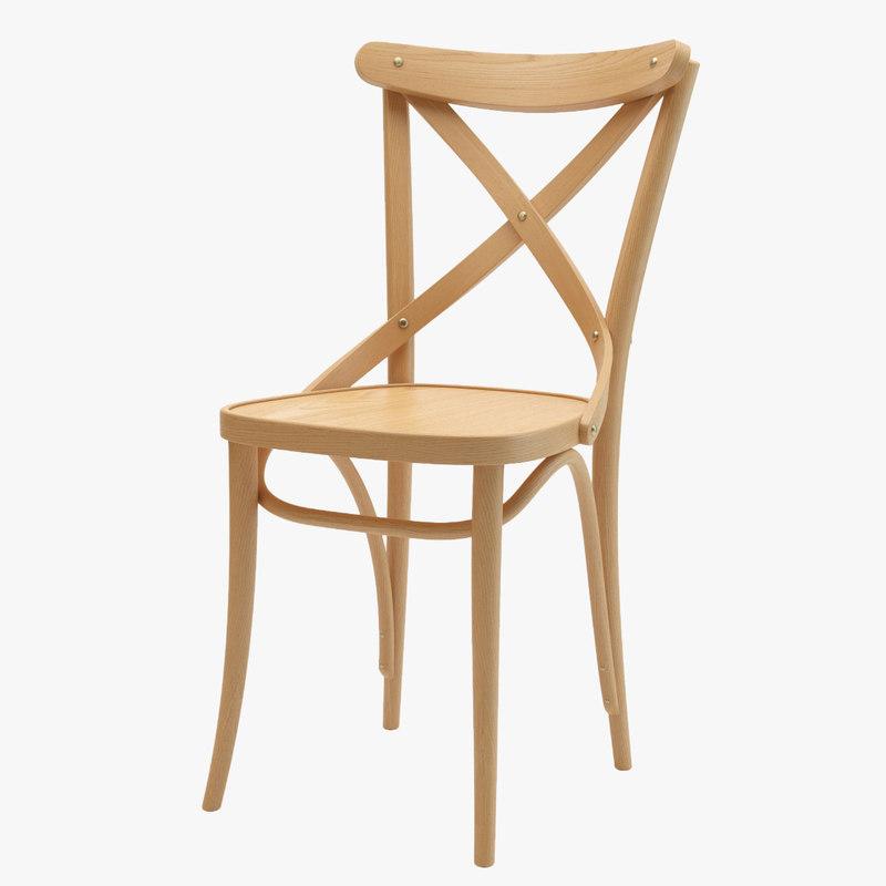 thonet ton chair 150 3D model