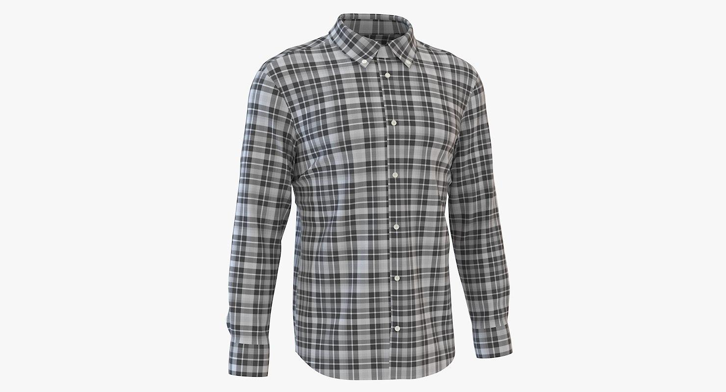 3D mens shirt