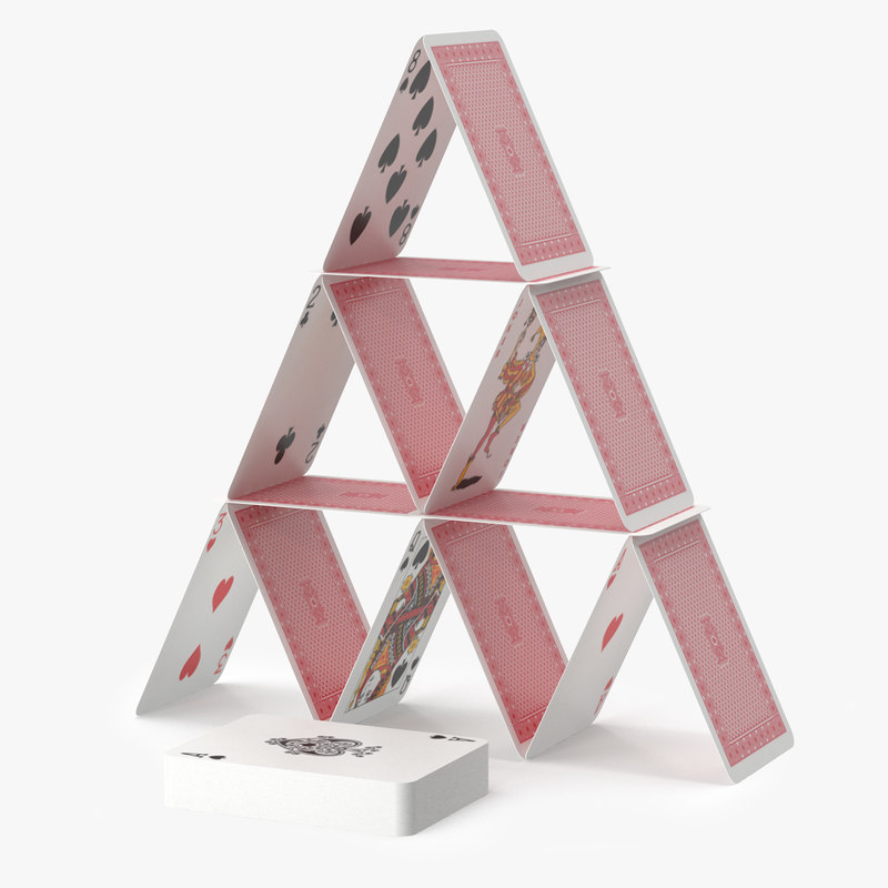Image result for image of a house of cards