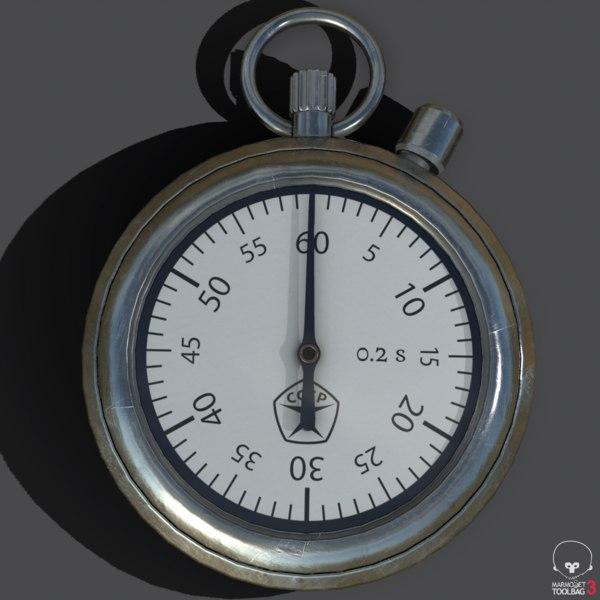 stopwatch ussr 3D