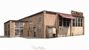 old buildings model