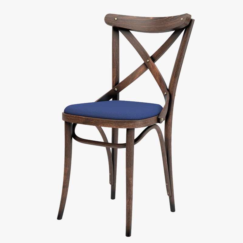 thonet cahir a150 antique 3D model