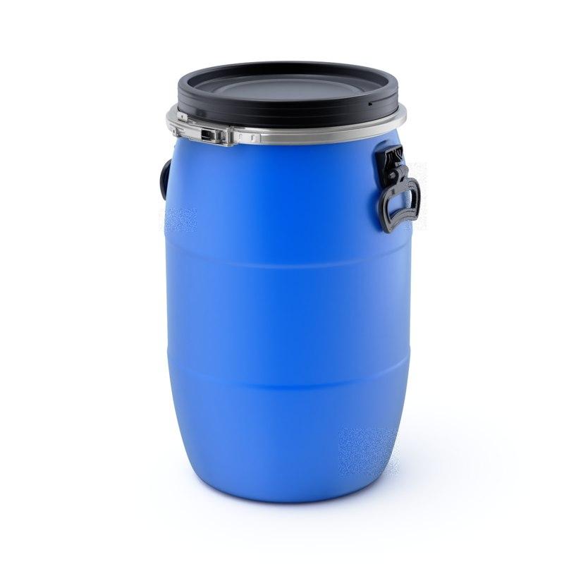 barrel plastic 3D