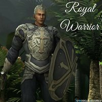 3D royal warrior