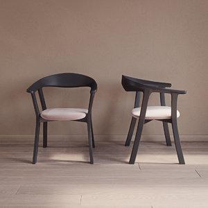 mito chair conmoto 3D model