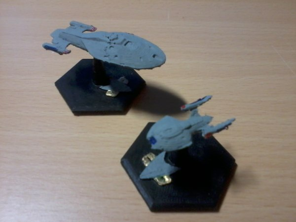 3D star trek print -