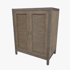 shutter small sideboard 3D model
