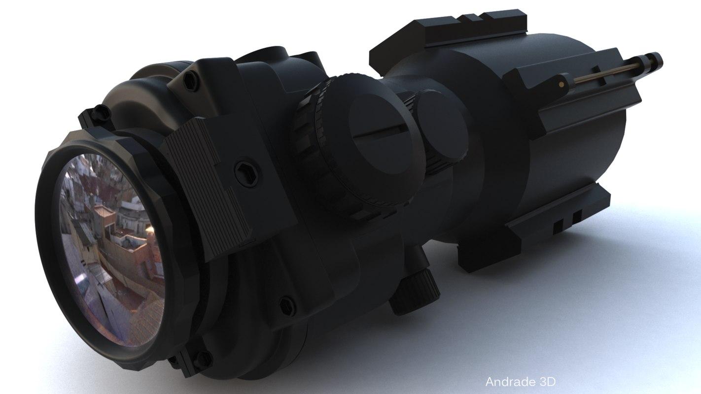 tactical bezel 3D model