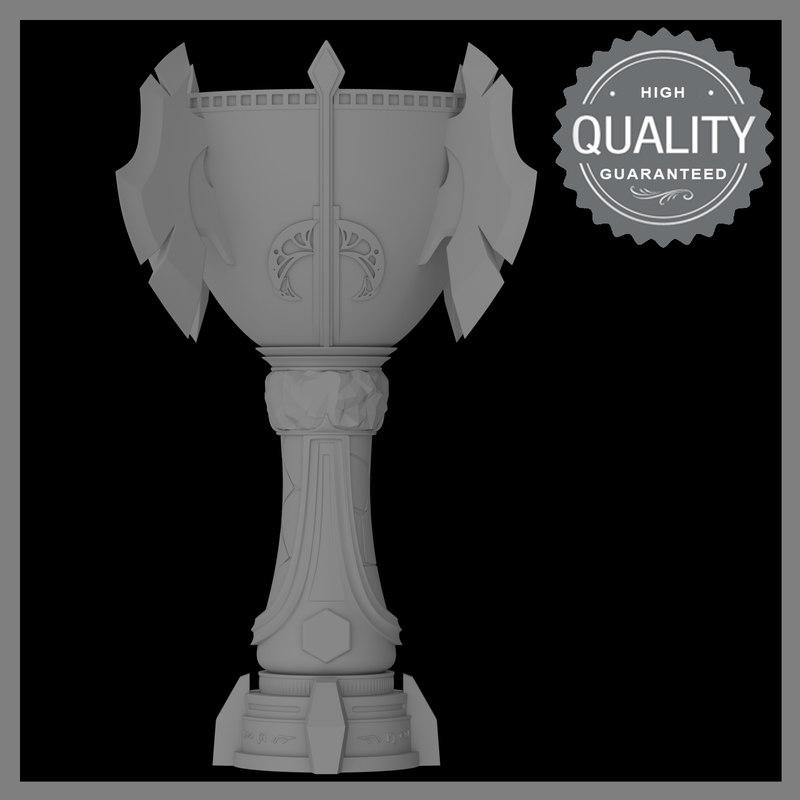 prize cup 3D model