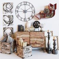 decorative set model