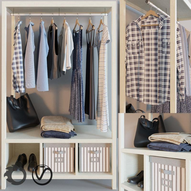 hemnes wardrobe model
