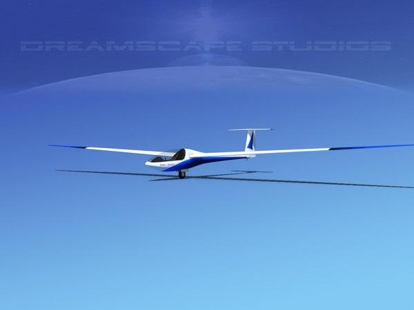 dg-200 sailplane 3D
