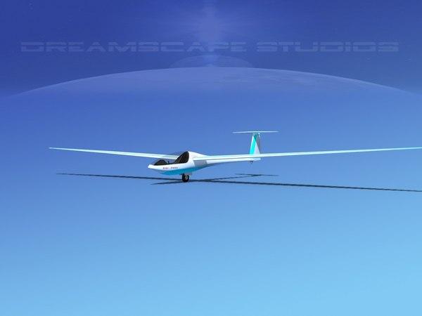 dg-200 sailplane model