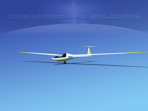 3D model dg-200 sailplane