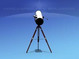 3D telescope reflector model