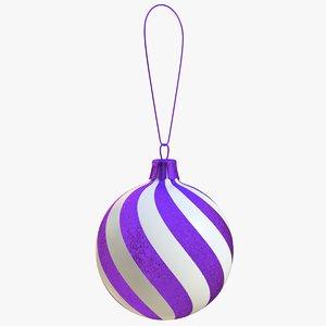 3D christmas ball
