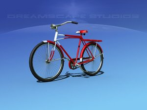 peddles bicycles 3D model