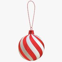 christmas ball 3D