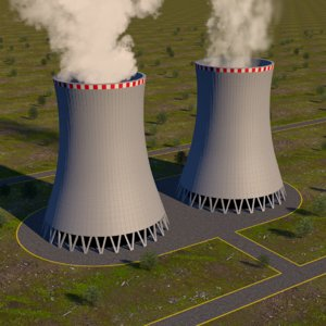 3D nuclear towers