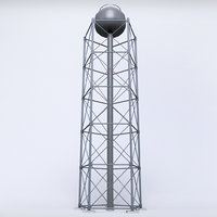 scaffolding radio tower power 3D