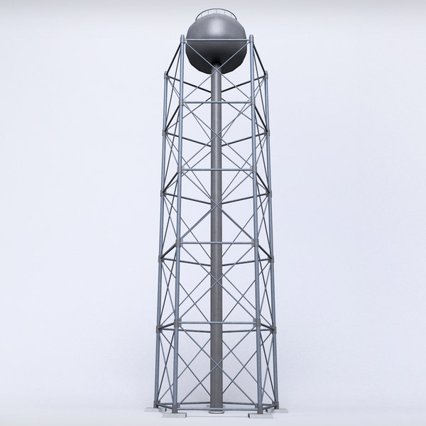 scaffolding radio tower power 3D