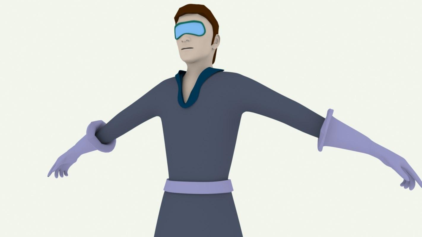 generic lab assistant 3D
