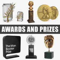 3D awards prizes model