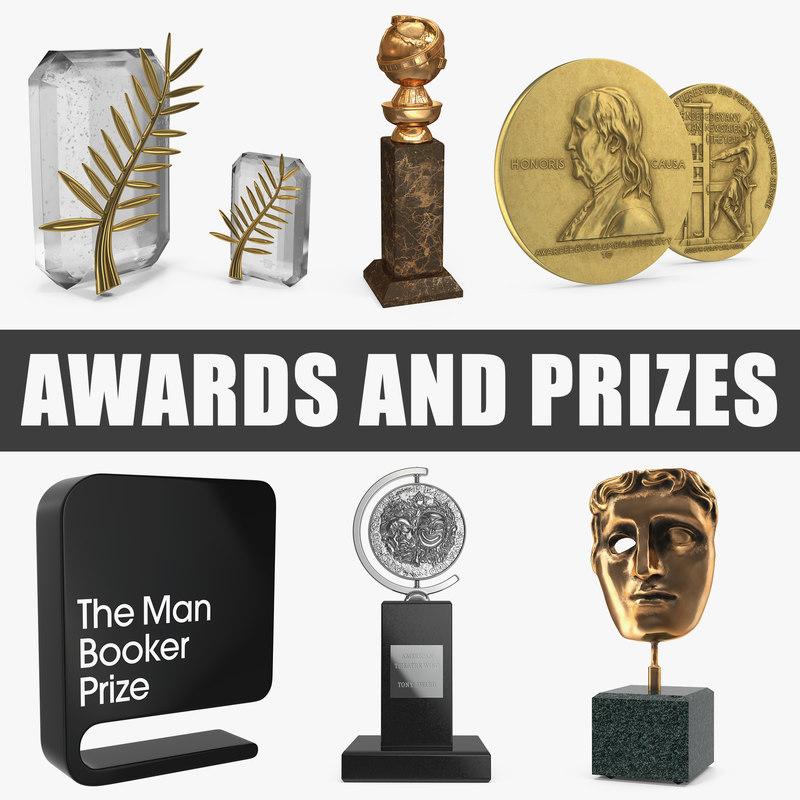 3D awards prizes model