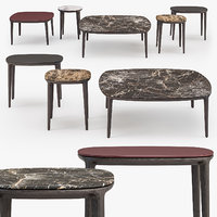 3D henry coffee tables set