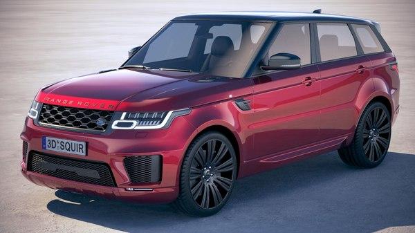 range rover sport model