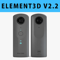 E3D - Ricoh Theta V 360 Spherical Camera model
