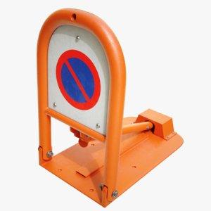 4k parking lock device 3D model