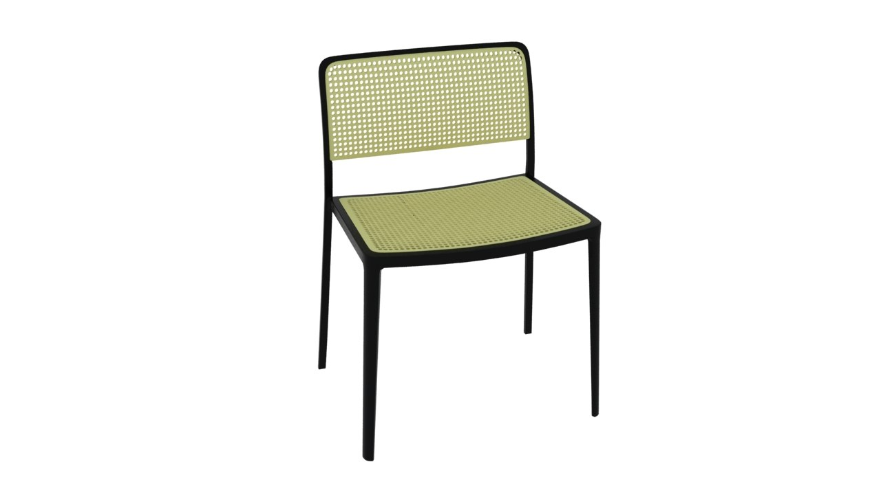 ... Kartell Audrey Chairs 3D Model ...